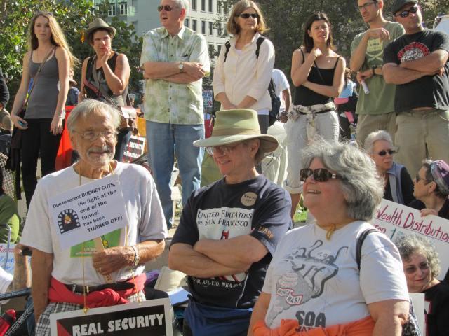 Occupy Health Rally