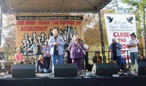 Interpreting for Father Roy SOAW Nov. 2011