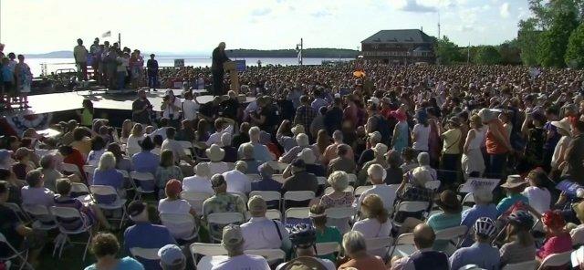 Sanders Rally NY