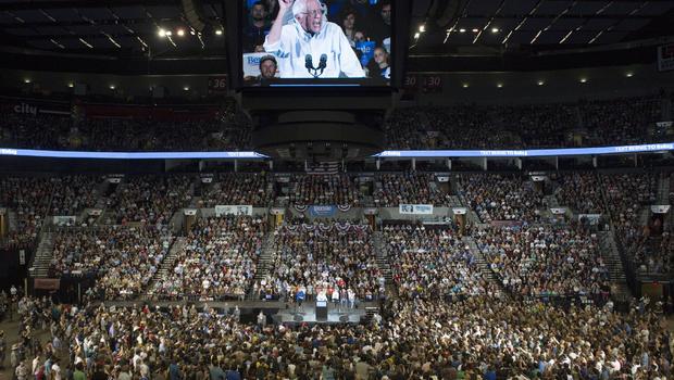 Sanders Rally Portland