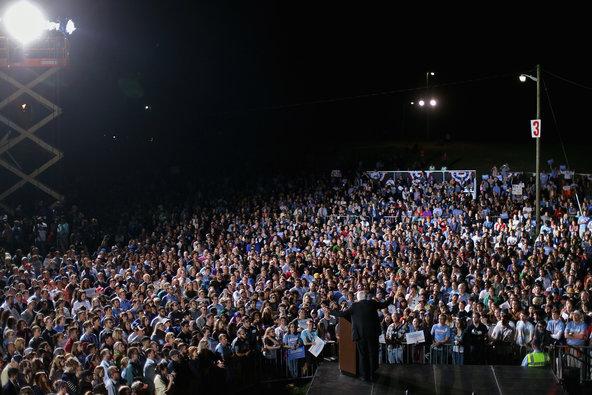 Sanders rally Virginia