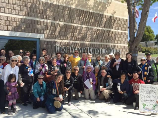April 2 2016 EBIIC vigil Lynn Gottlieb