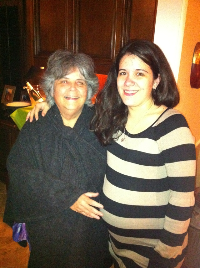 Cati and mami